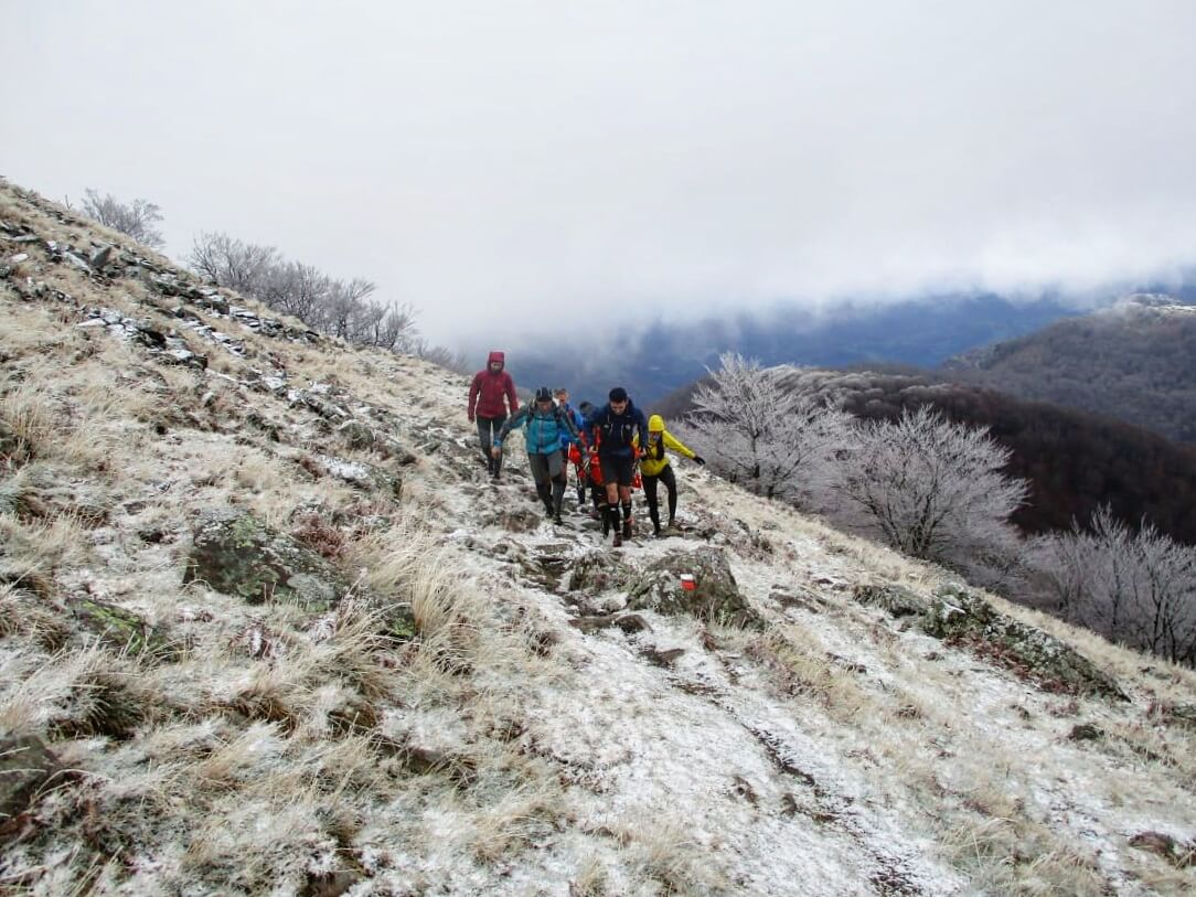 trail pays basque neige